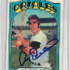 1972 Topps Andy Etchebarren Card   Autographed!