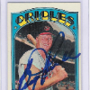 1972 Topps Boog Powell Card   Autographed!