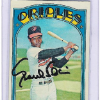 1972 Topps Paul Blair Card   Autographed!