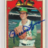 1972 Topps Rollie Fingers Card   Autographed!