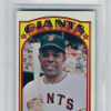 1972 Topps Willie Mays BVG 6 Excellent Mint