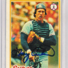 1978 Topps Baseball Gary Carter Card  Autographed!