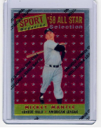 1997 Topps Finest Reprints #25 Mickey Mantle