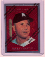 1997 Topps Finest Reprints #31 Mickey Mantle