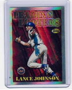 1997 Topps Seasons Best #25 Lance Johnson