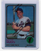 1997 Topps Finest Reprint #27 Willie Mays