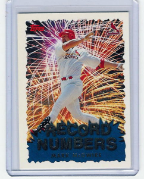 1999 Topps Record Numbers Silver #01 Mark McGwire