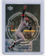 2000 Upper Deck Five-Tool Talents #11 Nomar Garciaparra