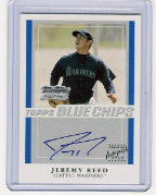 2006 Topps Autographs - TT-JR Jeremy Reed