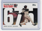 2006 Topps Barry Bonds Home Run History #675