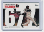 2006 Topps Barry Bonds Home Run History #677