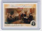 2006 Topps Declaration of Independence-Samuel Chase