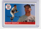 2006 Topps Mickey Mantle HR#012