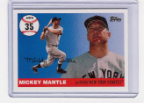 2006 Topps Mickey Mantle HR#035