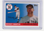 2006 Topps Mickey Mantle HR#038
