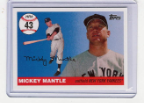 2006 Topps Mickey Mantle HR#043