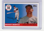 2006 Topps Mickey Mantle HR#044