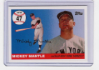 2006 Topps Mickey Mantle HR#047
