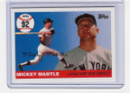 2006 Topps Mickey Mantle HR#092