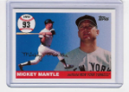 2006 Topps Mickey Mantle HR#093