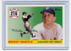 2007 Topps Mickey Mantle HR#216