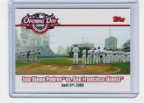 2006 Topps Opening Day - OD-PG Padres vs. Giants