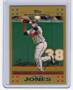 2007 Topps Gold #314 Andruw Jones Gold Glove