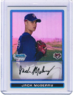 2009 Bowman Chrome #BCP185 Jack McGerry Refractor