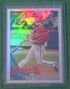 2010 Topps Chrome Refractor #162 Nate McLouth