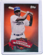 2010 Topps Chrome Refractor BC-5 Jackie Robinson