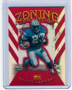 1997 Donruss Zoning Commision #09 Barry Sanders