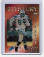 1997 Topps Mystery Finest Bronze Refr. #12 Herman Moore