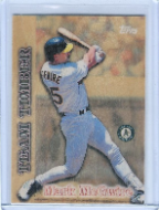 1997 Topps Team Timber #12 Mark McGwire