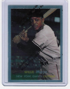 1997 Topps Finest Reprint #09 Willie Mays