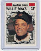 1997 Topps Reprints #15 Willie Mays