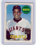 1997 Topps Reprints #23 Willie Mays