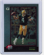 1998 Bowman Chrome Preview #06 Brett Favre