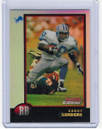 1998 Bowman Chrome Preview Refr. #08 Barry Sanders