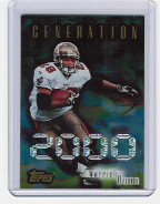 1998 Topps Generation 2000 #01 Warrick Dunn