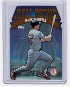 1998 Topps Hall Bound #11 Mark McGwire