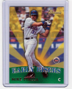 1999 Bowman Early Riser #01 Mike Piazza