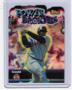 1999 Topps Power Broker Refractors #13 Mo Vaughn