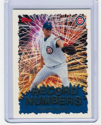 1999 Topps Record Numbers Silver #07 Kerry Wood