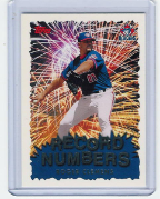 1999 Topps Record Numbers Silver #08 Roger Clemens