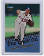 1999 Ultra The Book On #14 Greg Maddux