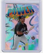 2000 Topps Power Players #14 Mike Piazza