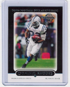 2005 Topps Black Bordered #083 Dominic Rhodes