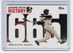 2006 Topps Barry Bonds Home Run History #665
