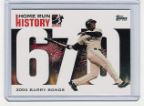 2006 Topps Barry Bonds Home Run History #670