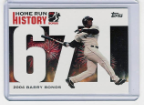 2006 Topps Barry Bonds Home Run History #671